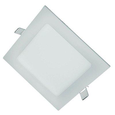 Painel de LED SLIM Quadrado de Embutir 12W MBLED