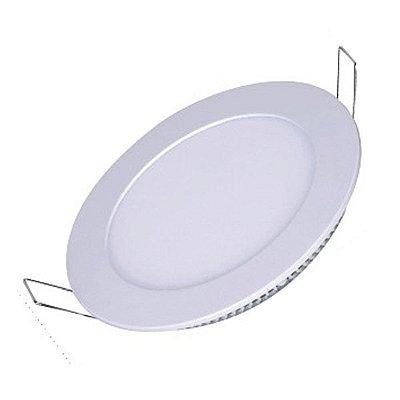 Painel de LED SLIM Redondo de Embutir 12W MBLED