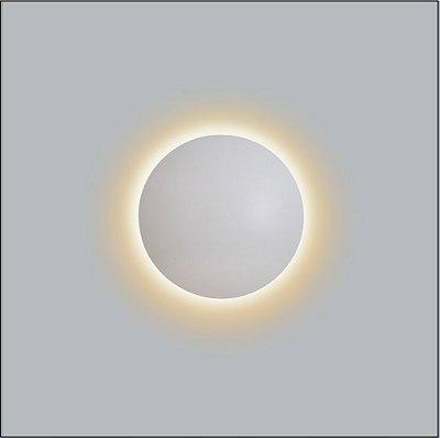 Arandela Redonda Eclipse Curvo 19cm - Usina Design 239-20