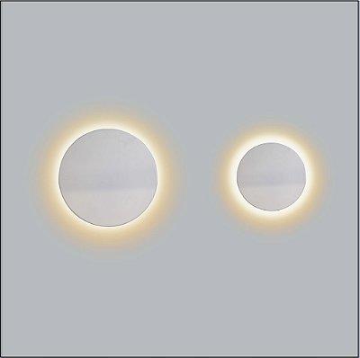 Arandela Redonda Eclipse Reto Pequeno 21cm - Usina Design 249-20