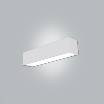 Arandela Retangular Tropical com 2 Difusor 1.28x12cm - Usina Design 4009-125F