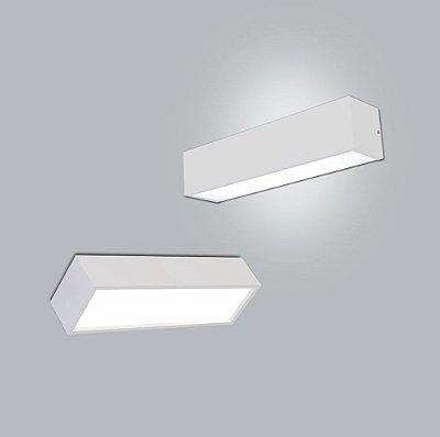 Arandela Retangular Tropical com 2 Difusor 40x12cm - Usina Design 4010-38