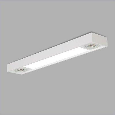 Plafon Retangular Tropical 65x15cm - Usina Design 4015-65F