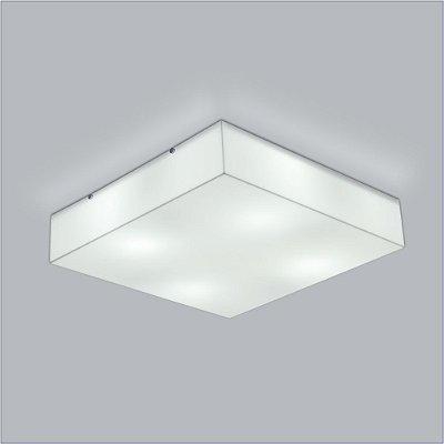 Plafon Quadrado Acrilico Polar 30 cm - Usina Design 10100-30