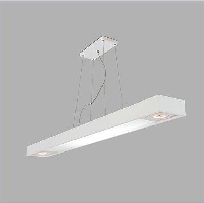 Pendente Retangular Tropical Slim 65 x 9,5 cm - Usina Design 4711-65FCH