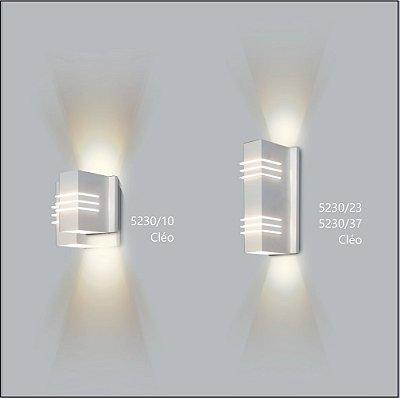 Arandela Retangular Cleo 12 x 8 cm - Usina Design 5230-37