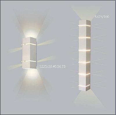 Arandela Quadrada Kiara 28 cm - Usina Design 5225-28