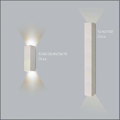 Arandela Quadrada Occa 28 cm - Usina Design 5240-28