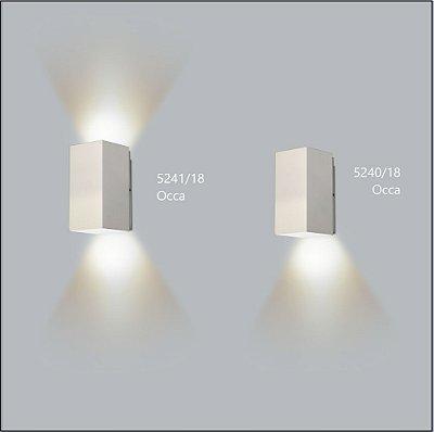 Arandela Quadrada Occa Fechada 10,5 cm - Usina Design 5241-10