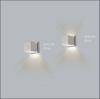 Arandela Quadrada Occa 10,5 cm - Usina Design 5242-10