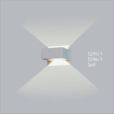 Arandela Retangular Self 12,5 x 11,5 cm - Usina Design 5296-1
