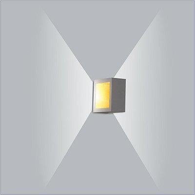 Arandela Quadrada Puch Led 10 cm - Usina Design 5744-10