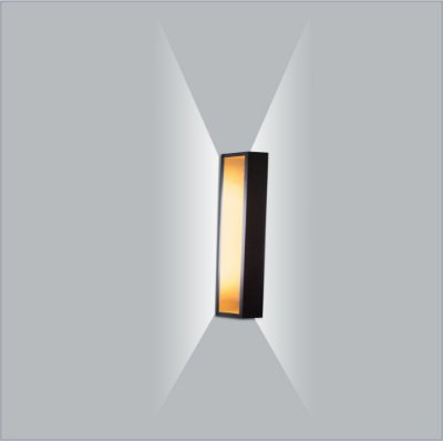 Arandela Retangular Puch Led 25 cm - Usina Design 5745-25