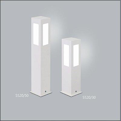 Poste Quadrado Jardim Alberino 50 cm - Usina Design 5520-50