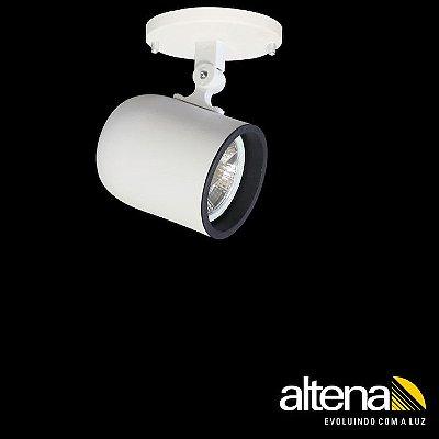 Spot Giga com canopla Branco Fosco - Altena ILuminação