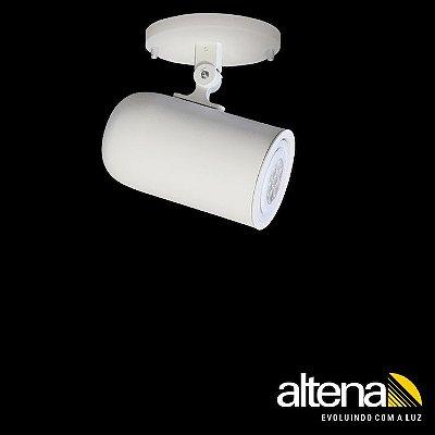 Spot Giga com canopla Branco Mono - Altena Iluminação