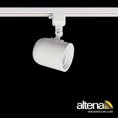 Spot Giga com Plug Altrac para Trilho Eletrificado Branco Mono - Altena ILuminação