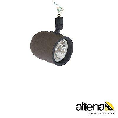 Spot Giga sem Canopla Marrom Café - Altena Iluminação