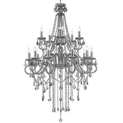 Lustres CRISTALYNE (P2208/15SMK) - Pier Iluminação