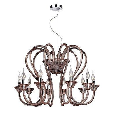 Lustres GLANSTONE (8494/10BL) - Pier Iluminação