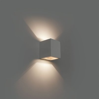 Arandela Kube L490/3/6W - Dimlux Iluminação