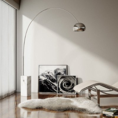 Coluna Arco FLARC03 -  Dimlux Iluminação