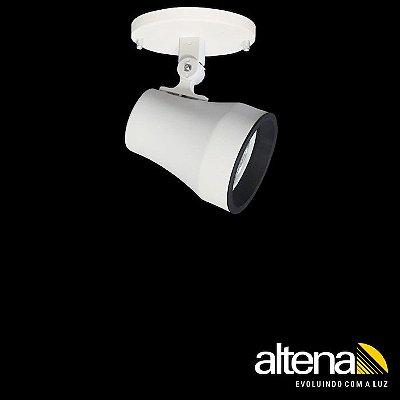 Spot Soft com canopla Branco Fosco - Altena Iluminação