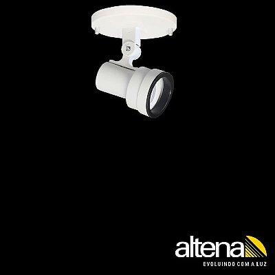 Spot Style com canopla Branco Fosco - Altena Iluminação