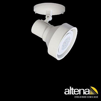 Spot Style com canopla Branco Mono - Altena Iluminação
