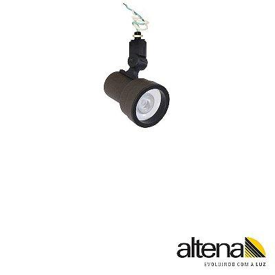 Spot Style sem Canopla Marrom Café - Altena Iluminação