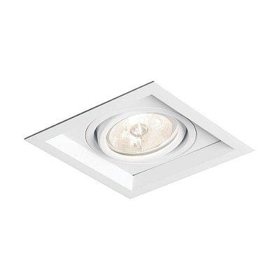 EMBUTIDO RECUADO II 1 MINI DICROICA LED - New Line IN51301