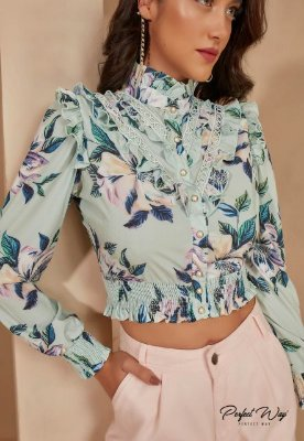 CAMISA PERFECT FLORAL LO113176