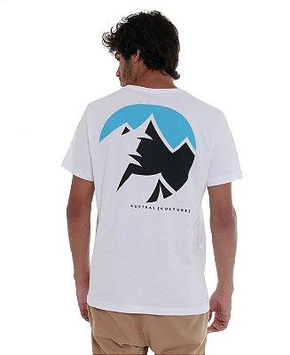Camiseta Montanhas II Branca