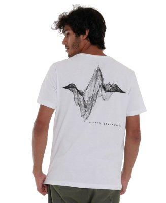 Camiseta SoundWave Branca