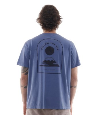 Camiseta Follow The Sun Azul