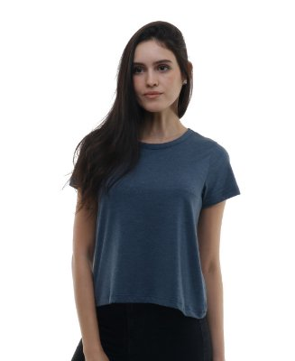 Camiseta Feminina Lisa Azul