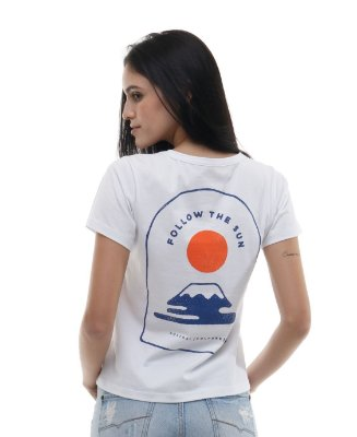 Camiseta Feminina Follow The Sun