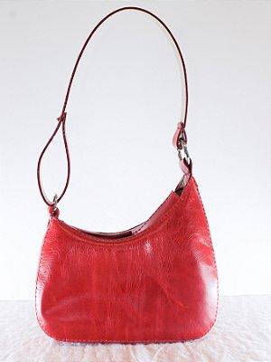 Bolsa Baguete Laura Vermelha
