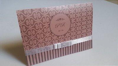 Convite de 15 anos rosa