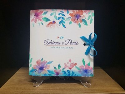 Convite floral casamento ou debutante