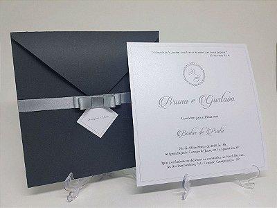 Convite bodas de prata