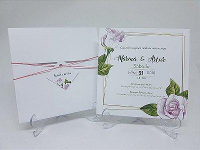 Convite rosas