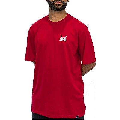 Camiseta Logo Básico - Vermelho