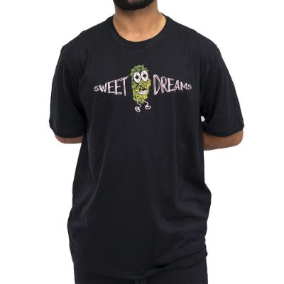 Camiseta Preta - Sweet Dreams