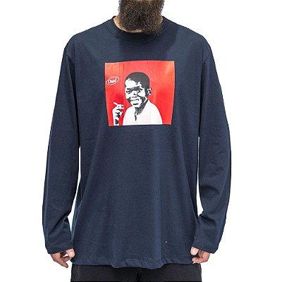 Camiseta M. Longa  Azul Marinho - Choco