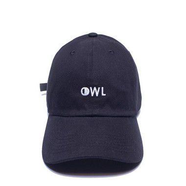 Boné Aba Curva Preto - OWL