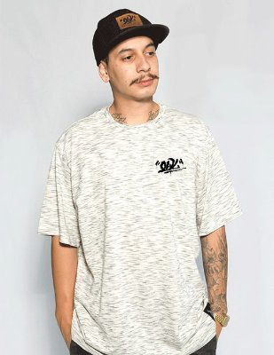 Camiseta Tag Owl - Creme