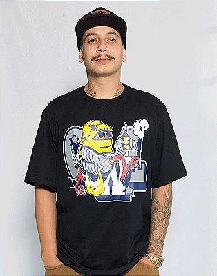 Camiseta America Latinha - Preto