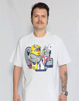 Camiseta America Latinha - Branco