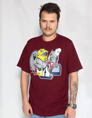 Camiseta America Latinha - Bordô